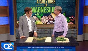 マイケル・マレー博士がドクター・オズ・ショーでマグネシウムの重要性について解説