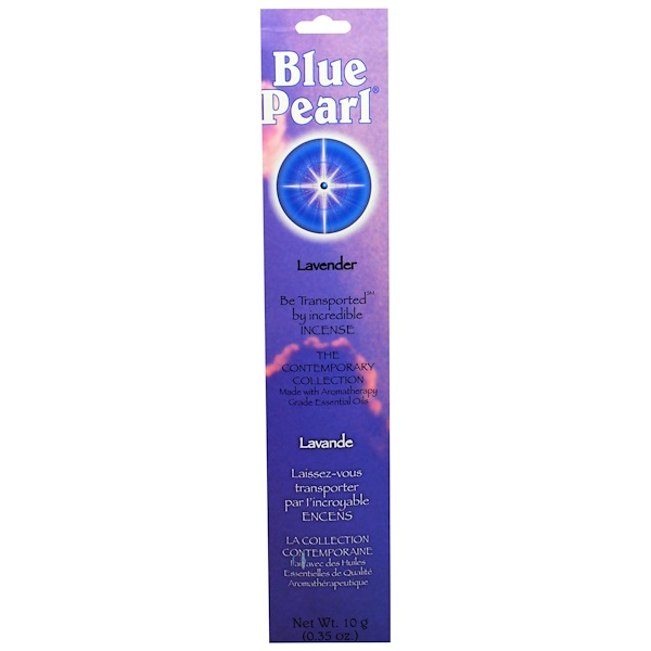 Blue Pearl, The Contemporary Collection, Lavender Incense, 0.35 oz (10 g) (Discontinued Item)