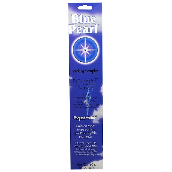 Blue Pearl, The Contemporary Collection, Variety Sampler, 10 g (0.35 oz) (Discontinued Item)