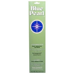 Блу Перл, Classic Imported Incense, Cedarwood, 0.7 oz (20 g) отзывы