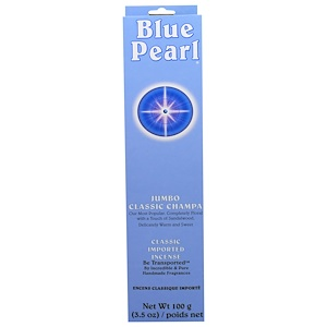 Блу Перл, Classic Imported Incense, Jumbo Classic Champa, 3.5 oz (100 g) отзывы