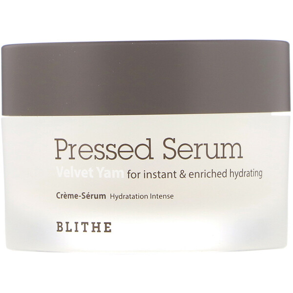 Blithe, Pressed Serum, Inhame de Veludo, 1,68 fl oz (50 ml) (Discontinued Item)