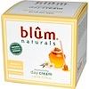 Blum Naturals, Crema humectante para el día, miel y manzanilla, 1.69 oz (50 ml)