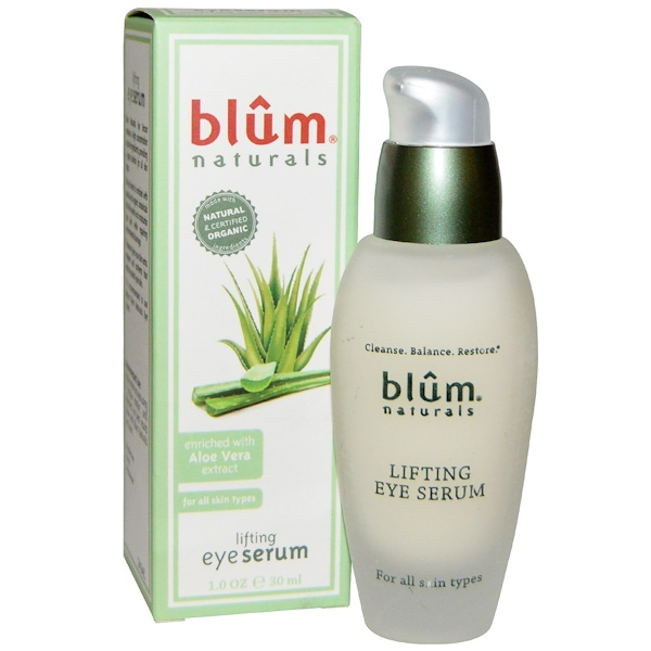 Blum Naturals, Lifting Eye Serum, 1.0 oz (30 ml) (Discontinued Item)