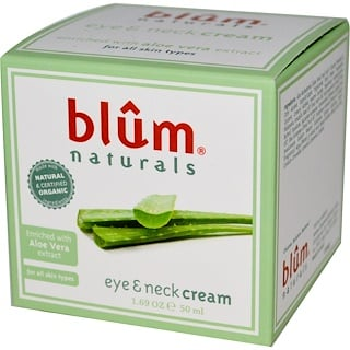 Blum Naturals, Eye & Neck Cream, 1.69 oz (50 ml)
