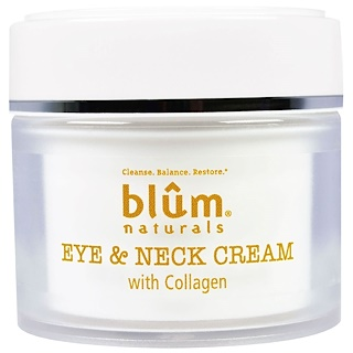 Blum Naturals, Eye & Neck Cream with Collagen, 1.69 oz (50 ml)