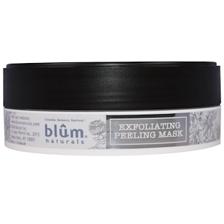 Blum Naturals, Exfoliating Peeling Mask, 3.45 oz (110 ml)