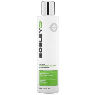 Bosley, Scalp Relief Anti-Dandruff Shampoo with Pyrithione Zinc, 8.5 fl oz (250 ml)