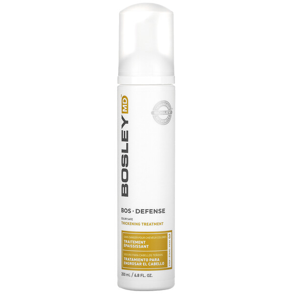 Bosley, Bos-Revive Thickening Treatment, Step 3, Color Safe, 6.8 fl oz (200 ml)