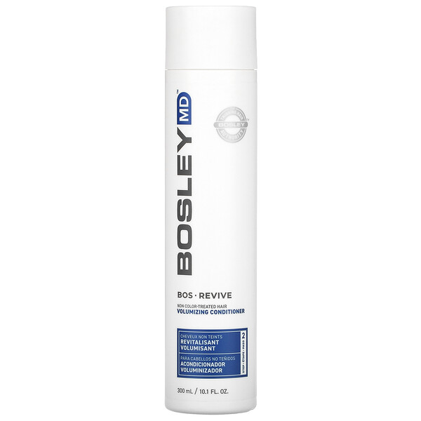 Bos-Revive Volumizing Conditioner, Step 2, Non Color-Treated Hair, 10.1 fl oz (300 ml)