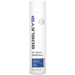 Bosley, Bos-Revive Nourishing Shampoo, Step 1, Non Color-Treated Hair, 10.1 fl oz (300 ml)