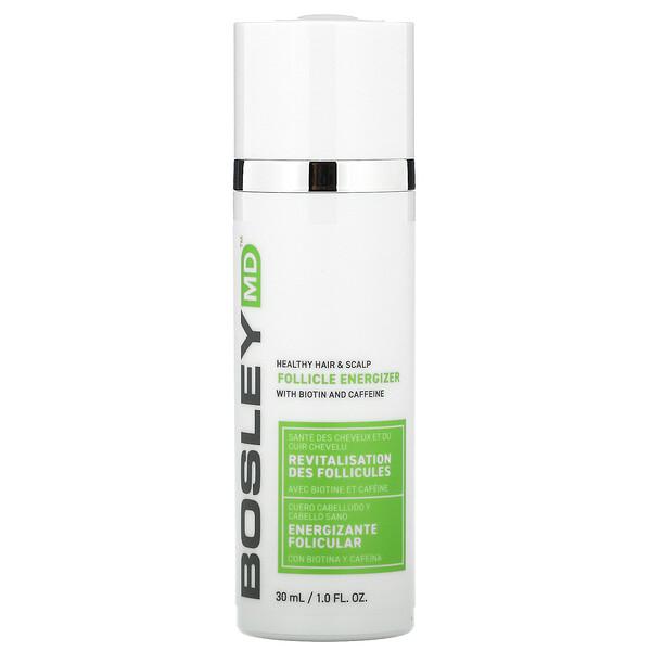 Healthy Hair & Scalp, Follicle Energizer with Biotin and Caffeine, 1 fl oz (30 ml)