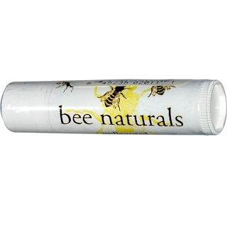 Bee Naturals, Lip Balm, Unflavored, 0.15 oz