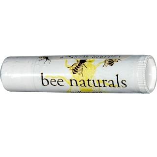 Bee Naturals, リップバーム、無香料、0.15オンス