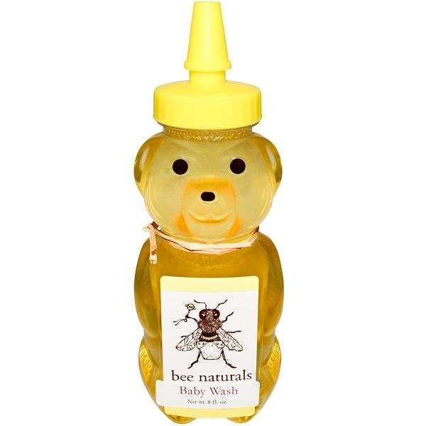 Bee Naturals, Baby Wash, 8 fl oz (Discontinued Item)