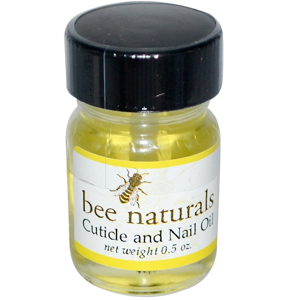 Bee Naturals, Cuticle and Nail Oil, 0.5 oz (Discontinued Item)
