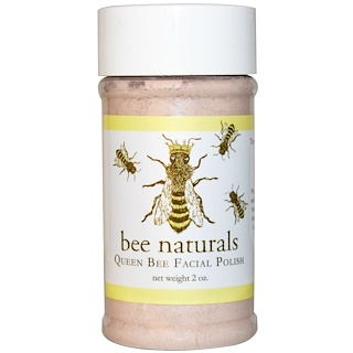 Bee Naturals, Pulidor Facial Queen Bee, 2 oz