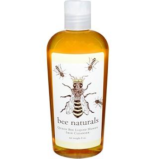 Bee Naturals, クイーンビー・リキッドハニー・スキンクレンザー、8オンス