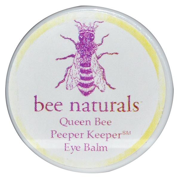 Bee Naturals, Queen Bee, Peeper Keeper Eye Balm, 0.6 oz (Discontinued Item)