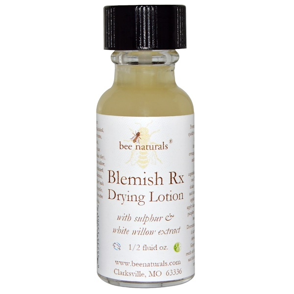 Bee Naturals, Blemish Rx Drying Lotion, 1/2 fl oz (Discontinued Item)