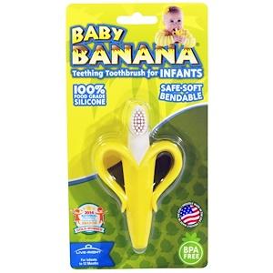 Бэби Банана, Teething Toothbrush for Infants, 1 Teether отзывы покупателей