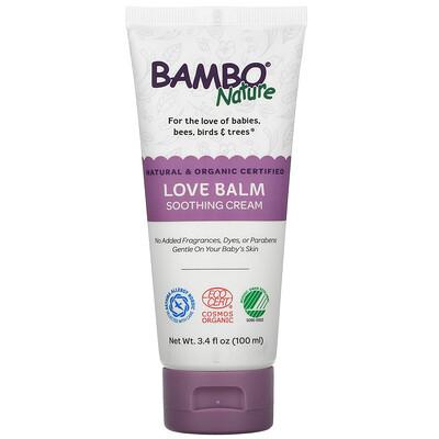 Купить Bambo Nature Love Balm Soothing Cream, 3.4 fl oz (100 ml)