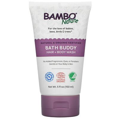 Купить Bambo Nature Bath Buddy Hair + Body Wash, 5 fl oz (150 ml)