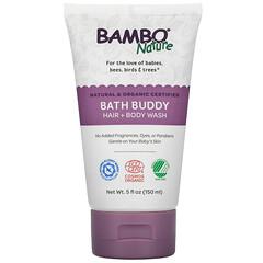 Bambo Nature, Bath Buddy 洗髮水 + 沐浴露,5 液量盎司(150 毫升)