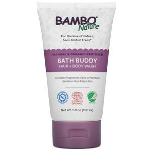 Bambo Nature, Bath Buddy Hair + Body Wash, 5 fl oz (150 ml)