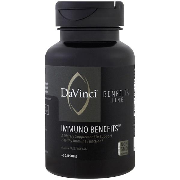 DaVinci Benefits, 抵抗膠囊,60 粒