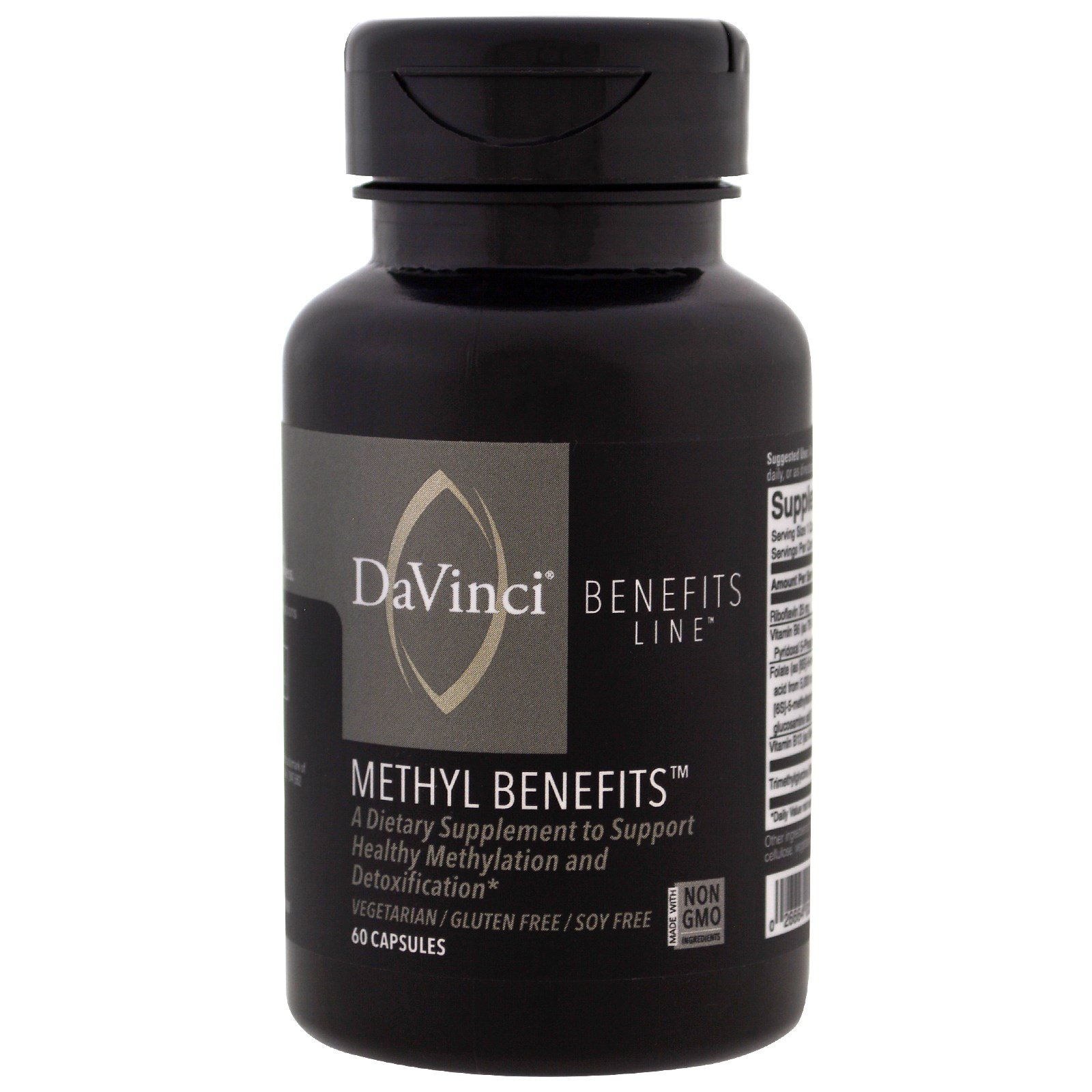 DaVinci Benefits, Преимущества метила, 60 капсул