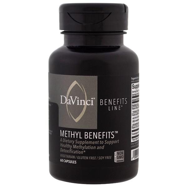 DaVinci Benefits, 甲基膠囊,60 粒