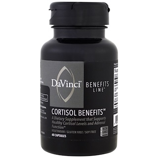 DaVinci Benefits, Cortisol Benefits , 60 Capsules