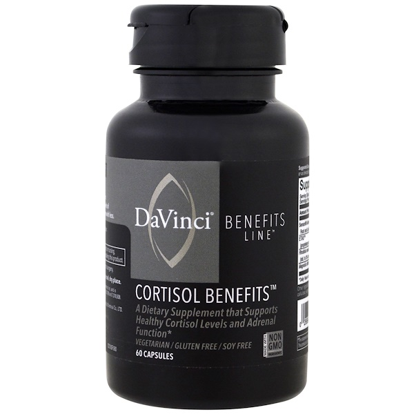 DaVinci Benefits, 皮質醇膠囊,60 粒