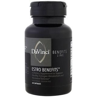 DaVinci Benefits, Estro Benefits , 60 Capsules