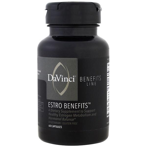 DaVinci Benefits, 雌激素膠囊,60 粒
