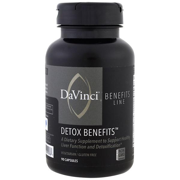 DaVinci Benefits, 解毒膠囊,90 粒