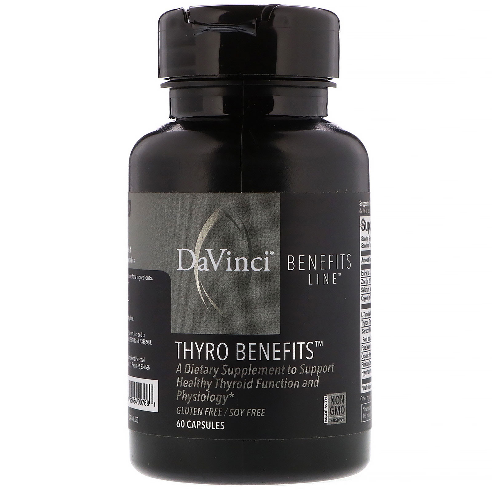 DaVinci Benefits, Thyro Benefits, 60 Capsules