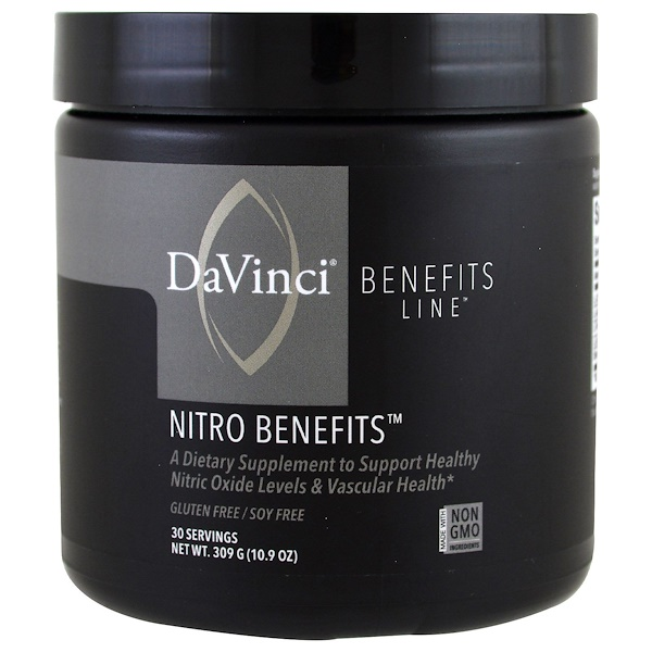 DaVinci Benefits, Nitro Benefits,10、9盎司(309克)