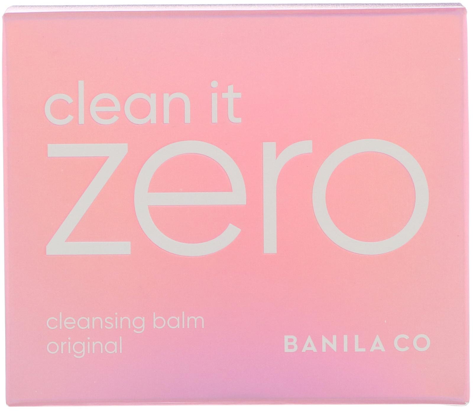 Banila Co Clean It Zero Cleansing Balm Original 338 Fl Oz 100 Nature Republic Himalaya Salt Pink