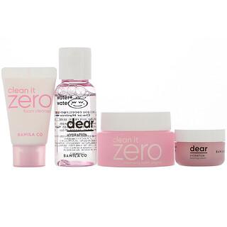 Banila Co., Dear Hydration Skin Care Starter Kit, 4 Piece Kit
