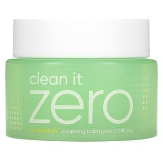 Banila Co., Clean It Zero, Tri-Peel Acid Cleansing Balm, 3.38 fl oz (100 ml)