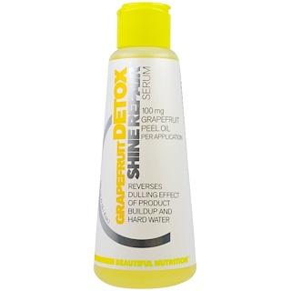 Beautiful Nutrition, Detox, Shine Repair, Grapefruit, Serum, 100 mg, 5.1 fl oz (150 ml)