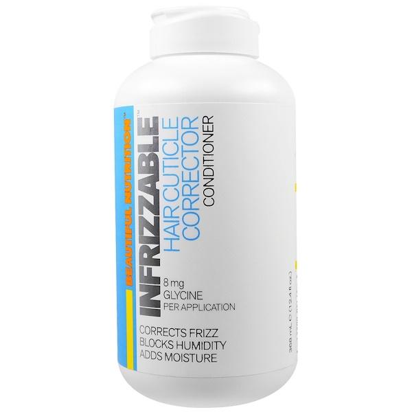 Beautiful Nutrition, Infrizzable頭髮角質層修復劑,護髮素,12、4液體盎司(368毫升)