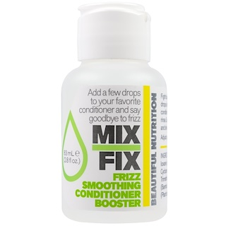 Beautiful Nutrition, Mix Fix, Frizz Smoothing Conditioner Booster , 2.8 fl oz (83 ml)