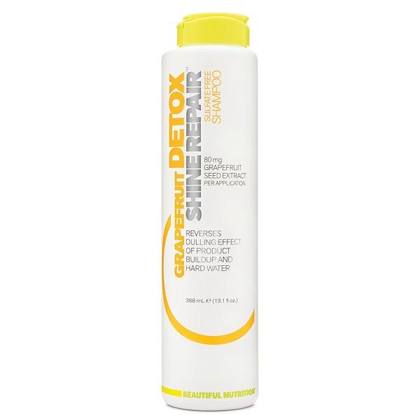 Beautiful Nutrition, Detox, Shine Repair, Grapefruit, Shampoo, 13.1 fl oz (388 ml)