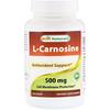 Best Naturals, L-Carnosine, 500 mg, 100 VCaps