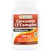 Curcumin C3 Complex with Bioperine, 500 mg , 120 VCaps - изображение