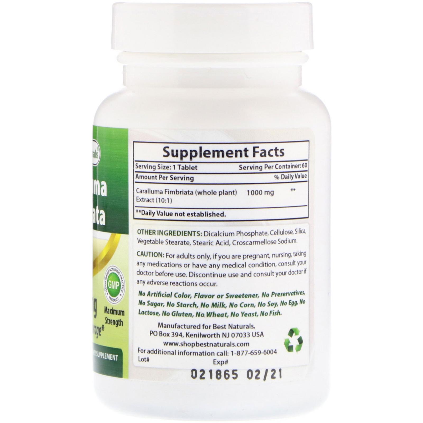 caralluma 2000 mg