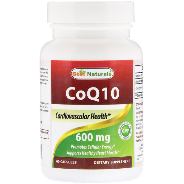 Best Naturals, CoQ10, 600 mg, 60 Capsules (Discontinued Item)